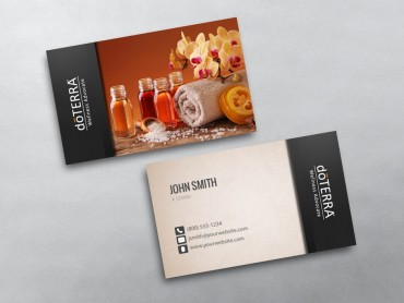 Doterra Business Cards Free Shipping